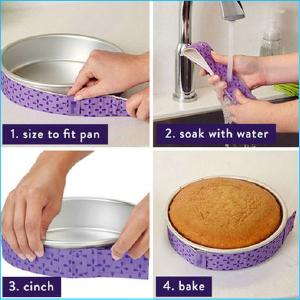Cake Baking Strip 88cm x 4cm Pk 1