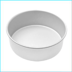 "Cake Tin Deep Round 4"" x 4"" High"