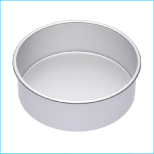 "Cake Tin Deep Round 5"" x 4"" High"