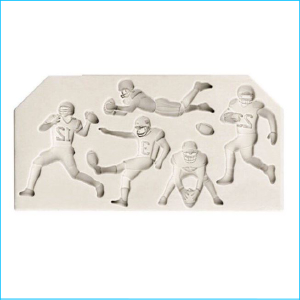 Silicone Mould NFL Football Players