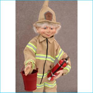 Elf Firefighter Chief Ember Sparx EL0004