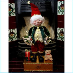 Elf The Toy Maker with Box 57cm XX7281