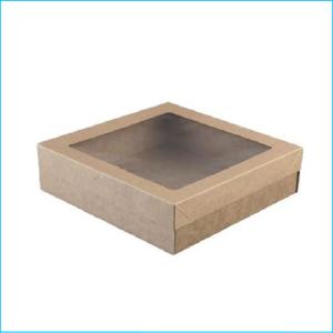 Catering Box #5 w Lid 225 x 225 x 60mm