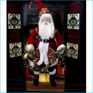Santa Claus on Box 72cm XX7280