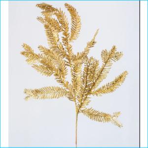 Spray Pine Gold Glitter 57cm