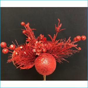 Spray Ball & Berry Red Glitter