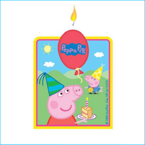 Candle Peppa Pig Pk 1