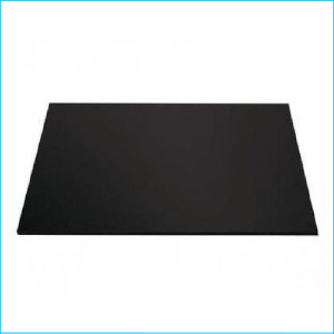 "Cake Board Rectangle Black 9"" x 12"""