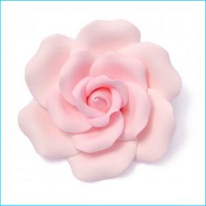 Sugar Flower Pink Rose Medium