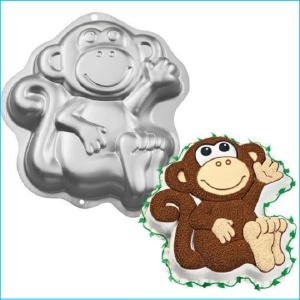 Cake Tin Monkey