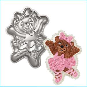 Cake Tin Ballerina Bear