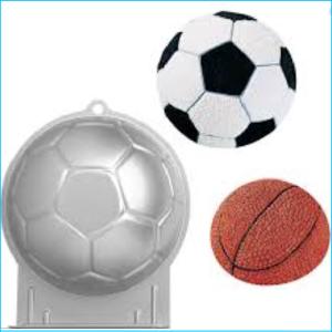 Cake Tin Soccer Ball Wilton