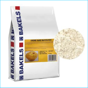 Bakels Creme Cake Muffin Mix 4kg