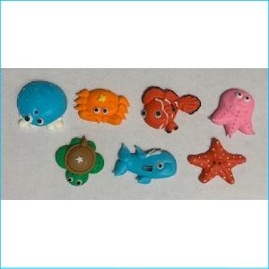Sugar Decoration Sea Creatures Pk 9