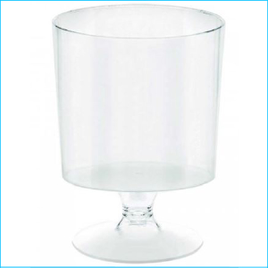 Catering Dessert Cup Footed 147ml Pk10