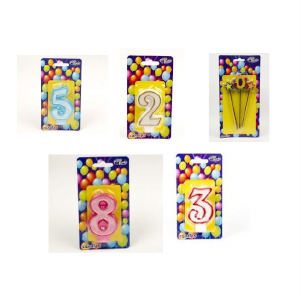Single Number Candles
