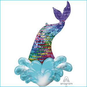 Foil Mermaid Tail 99cm