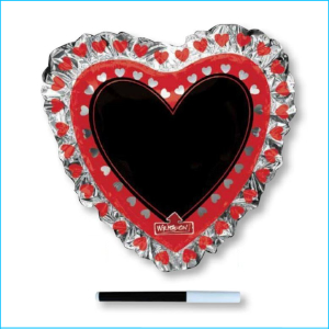 Foil Love Heart Personalised 71cm