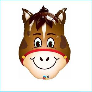 Foil Farm Animal Horse Head 81cm