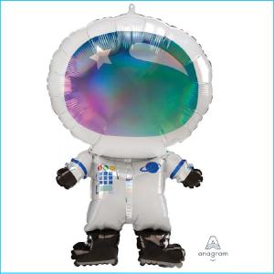 Foil Space Astronaut Holographic 76cm