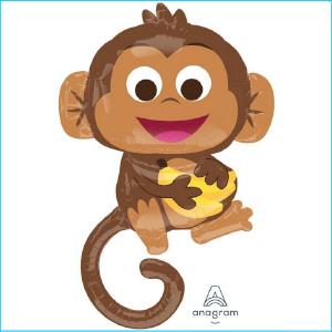 Foil Safari Monkey 91cm