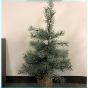 Christmas Tree Mint Green Glitter 3ft