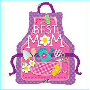 Foil Happy Mother's Day Best Mum 104cm