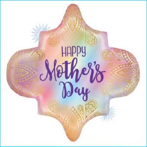 Foil Happy Mother's Day Boho 76cm