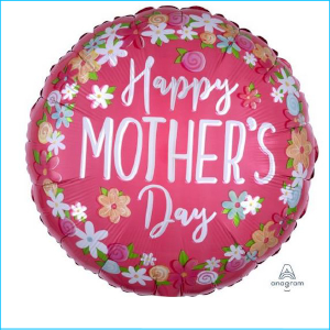 Happy Mother's Day Pink Flowers 71cm