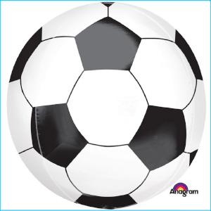 Foil Soccer Ball Orbz 40cm