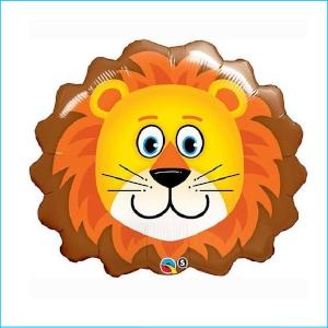 Foil Safari Lion Head 74cm