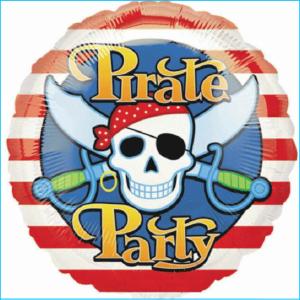 Foil Pirate Party 45cm