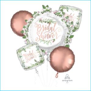 Foil Bouquet Bridal Shower Set 5