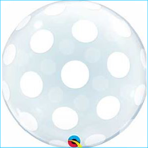 Deco Bubble Big Polka Dots 51cm