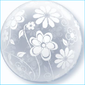 Deco Bubble Floral Pattern 51cm