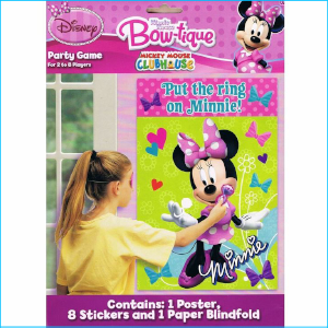 Minnie Mouse Party Game Set 10