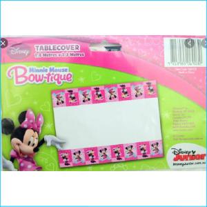 Minnie Mouse Bowtique Tablecover Pk 1