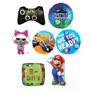 Helium Quality Toys & Gaming Foils Unfilled