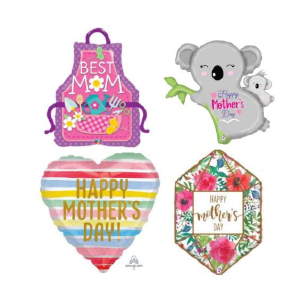 Helium Quality Mothers & Fathers Day Foils Unfilled