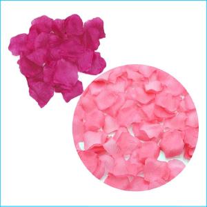 Silk Rose Petals Pink Mixed 300 Pieces