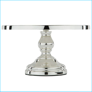 "Cake Stand Silver Plated 12"" Deluxe"
