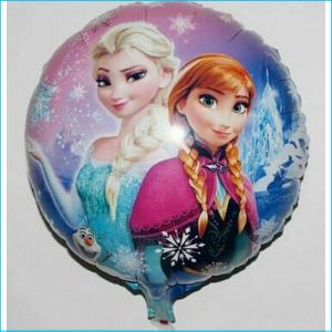 Foil Frozen Anna & Elsa Snowflakes 45cm