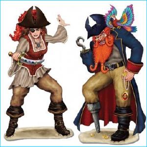 Pirate Bonny & Jack Insta Theme Pk 2