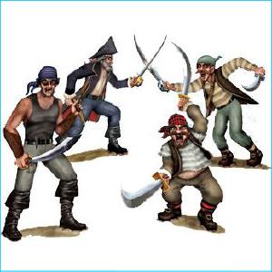 Pirate & Bandit Duelling Insta Theme Pk