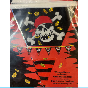 Pirate Flag Bunting A 4m