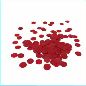 Paper Confetti Circles Apple Red Bag 15g
