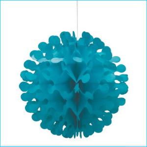 Flutter Ball Turquoise 30.4cm Pk 1