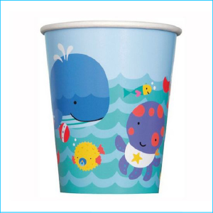 Under the Sea Paper Cups Pk 8