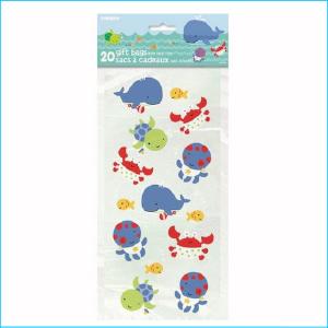 Under the Sea Plastic Gift Bag Pk 20