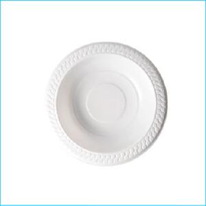 White Plastic Bowls Pk 50